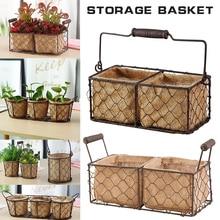 Seagrass Wickerwork Basket Rattan Hanging Flower Pot Dirty Laundry Hamper Storage Basket Dropshipping
