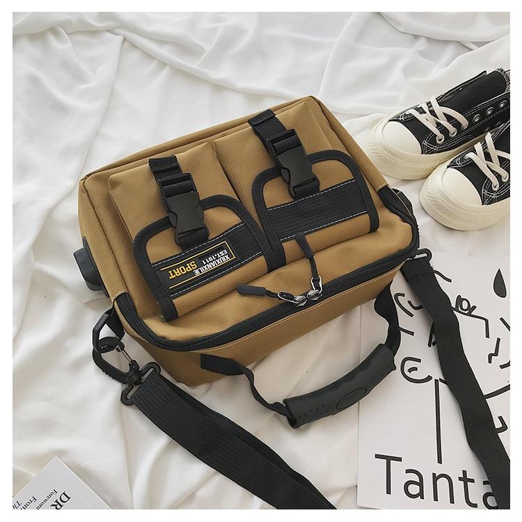 Direct Selling 2019 New Style Shoulder Bag wholesae 2-Color Fashion Cool Series Fashion Single-shoulder Crossbody Bag Oxford Clo