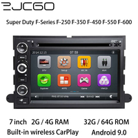 Car Multimedia Player Stereo GPS DVD Radio Navigation Android Screen for Ford Super Duty F Series F 250 F 350 F 450 F 550 F 600