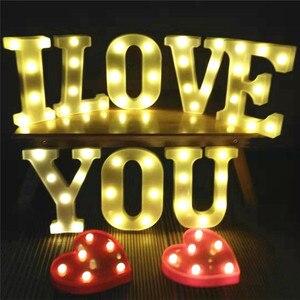 Letras LED Letter Light 3D Whi