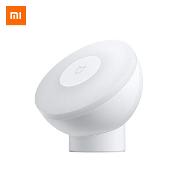 Xiaomi Mijia Night Light 2nd Generation Magnetic Attraction Night Lamp 360 Rotating Adjustable Infrared Body Sensor|Night Lights| - AliExpress