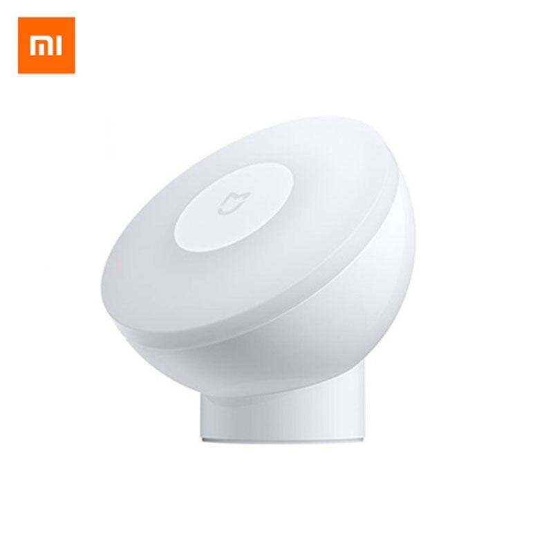 Xiaomi Mijia Night Light 2nd Generation Magnetic Attraction Night Lamp 360 Rotating Adjustable Infrared Body Sensor|Night Lights| - AliExpress