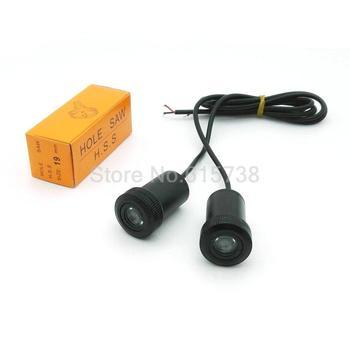 2 sztuk LED dzięki uprzejmości drzwi projektor świetlny laserowy logo światło dla Dacia Hyundai Lifan daewoo lincoln Daihatsu Fiat Seat Mitsubishi tanie i dobre opinie Heinmo Witamy Światło
