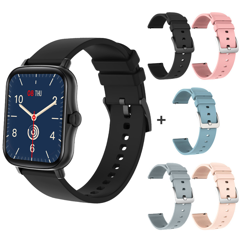 Black with 5 straps