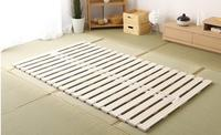 Modern Rolling Up Japanese Style Solid Wood Bed Support Slats For Tatami Bedroom Furniture Single/Queen/King Bed Frame Wooden