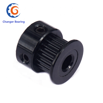 цена на 3D Printer Accessories 2GT Black Timing Belt Pulley GT2 6mm Width 20 Teeth 5mm/8mm Bore Size Pulley