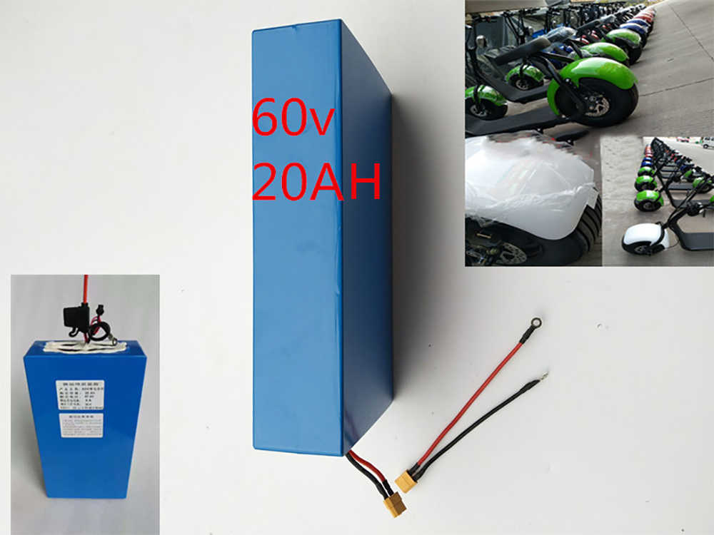 60V 2000W 20Ah  No Tax Waterproof Lithium ion Electric Bike Battery Electric Scooter Battery For  Scooter Electric Bicycle