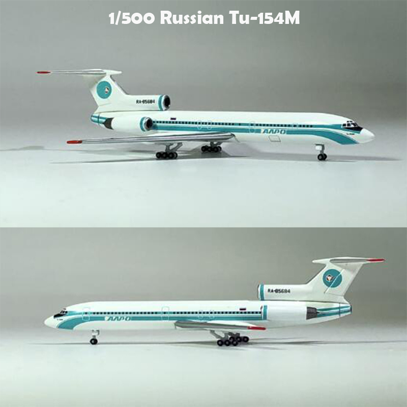 1/500  Russian Tu-154M Aircraft Model RA 85684 Limited Edition  Alloy Collection Model