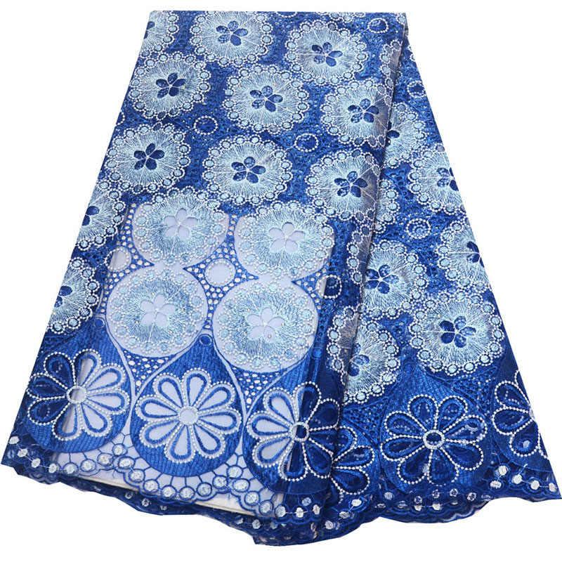 Ulifelace Design di Classe Bianco partita Nero Francese Tessuto di Maglia Del Ricamo Africano Francese Tessuto Del Merletto Netto Per Il Vestito Da Sposa N2568