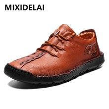2020 nuevos zapatos casuales de cuero de alta calidad, zapatos de moda para hombres, mocasines Vintage hechos a mano, mocasines de gran oferta, tamaño grande 38-48