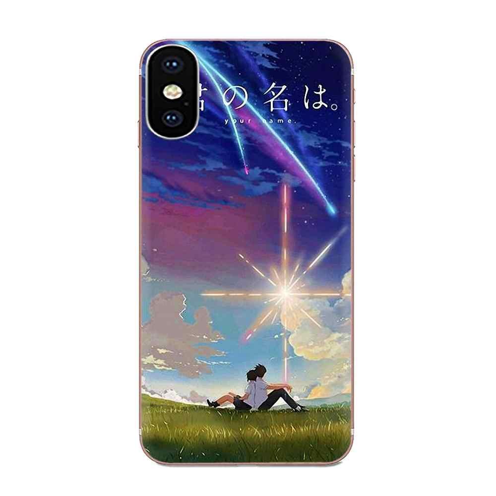 Чехол с узором для телефона Xiaomi Redmi Mi 4 7A 9T K20 CC9 CC9e Note 7 9 Y3 SE Pro Prime Go Play японское аниме ваше имя
