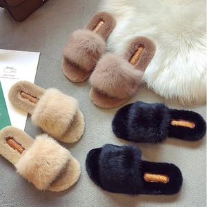 Women Warm Solid Soft Comfort Plush Soft Slippers Indoors Floor Bed Room Shoes Fashion Casual Ladies Shoes zapatos de mujer #9(China)