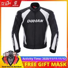 DUHAN мотоциклетная куртка, Мужская Защитная Экипировка, мотоциклетная куртка, штаны, ветрозащитная, морозостойкая, мотоциклетный костюм для верховой езды