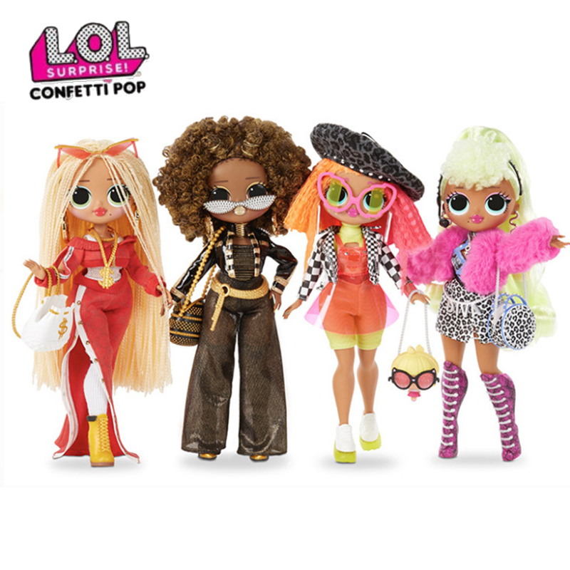LOL Surprise Dolls 28cm Oversized LOLs OMG Dolls Blind Box Gift For Girl Dressing Up Toys Birthday Gifts