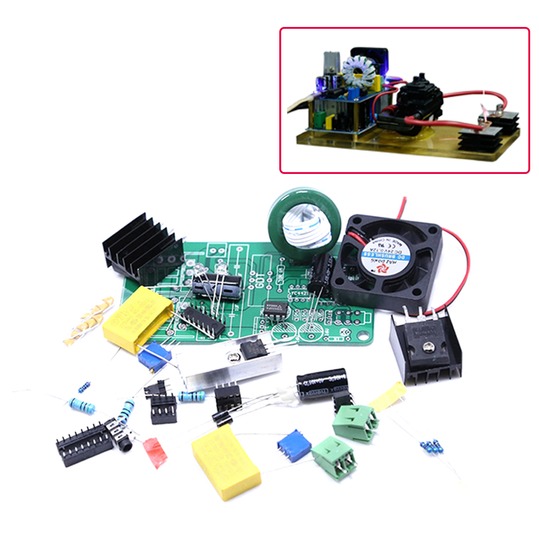 DIY Electronic Speaker Plasma Speaker Classic Tl494 Plasma Sound For Kids Education Toys - A Full Set Of Parts/Finished Product