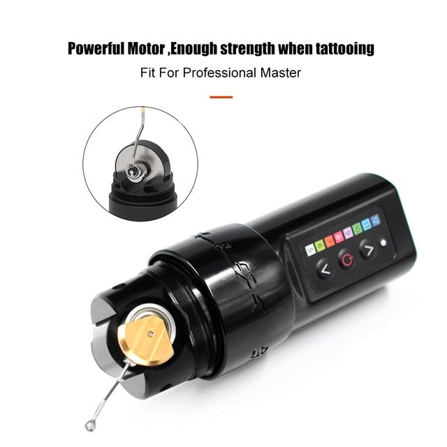 Professional Wireless Tattoo Machine Pen,Fast Charge 3