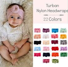 Bebek kafa bandı yenidoğan kız bebek türban Toddler aksesuarları naylon pamuk Headwrap saç bandı sevimli kawaii yumuşak 2021 kawaii