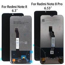 ل شاومي Redmi نوت 8 نوت 8t lcd عرض ل Redmi نوت 8 برو شاشة تعمل باللمس محول الأرقام الجمعية أجزاء ل Redmi نوت 8t lcd