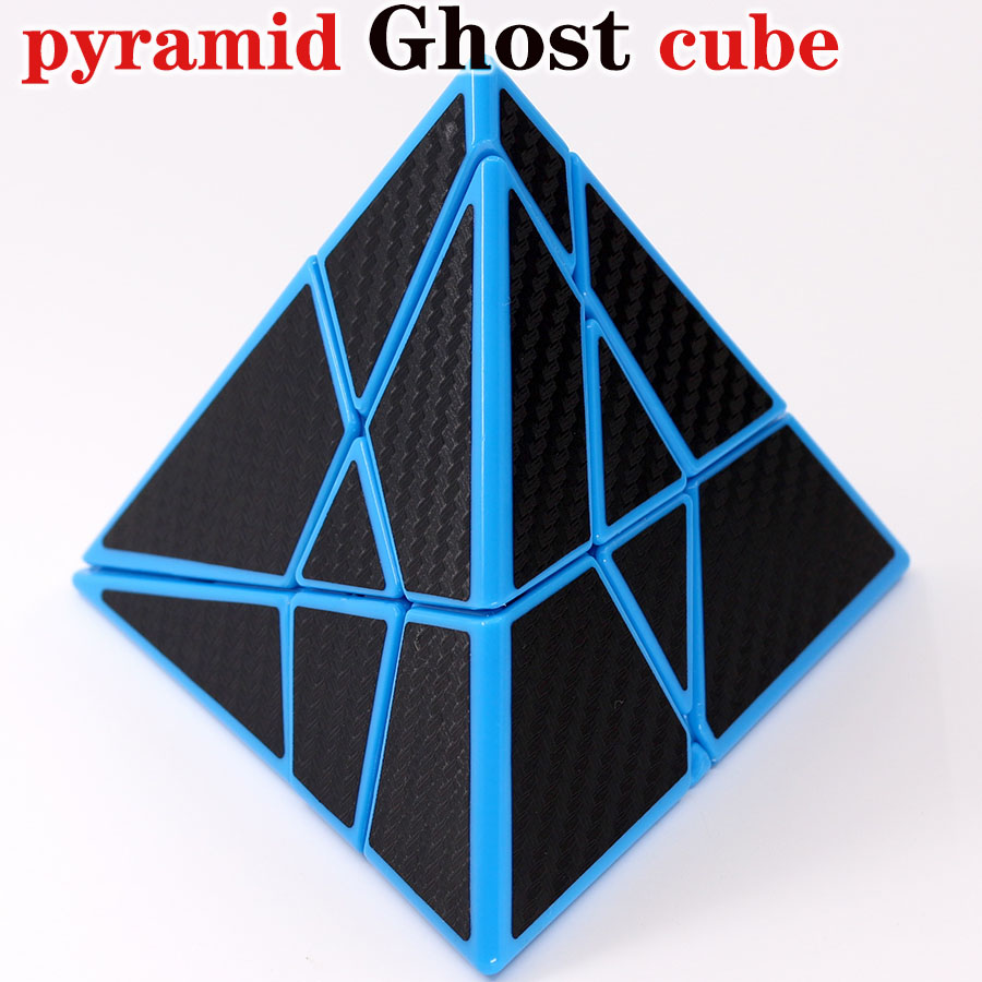 Magic Puzzle Cube FangCun Pyramid Ghost Cube Special Shape Professional Educational Twist Wisdom Creative Game Toys Cube