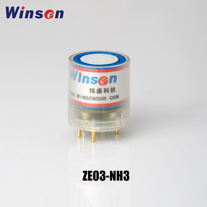 Winsen ZE03-NH3 – Module de détection électrochimique, 0-50ppm/ 0-100ppm, haute résolution, sortie de tension UART et analogique, 2 pièces