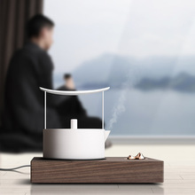 Tea-Stove Electric Teapot Mountain-Iron-Pot Pottery Kung-Fu Silver Minimalist Automatic-Water-Heat-Resistant