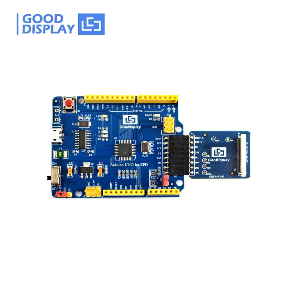 Arduino UNO for EPD e-paper display demo kit HAT for e-ink screen DEArduino(C102)