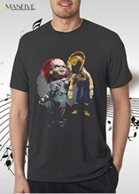 New Toy Story Woody Horror Movie Poster Print Funny Mens T-Shirt Short Sleeve Top 100% Cotton O-Neck Tops