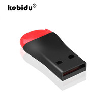 Kebidu Mini USB 2.0 untuk Micro Sd SDHC TF Flash Memory Card Reader Mini Adaptor untuk Laptop(China)