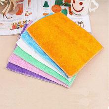 Paño De microfibra De fibra De bambú, toalla para lavar platos, paño De limpieza De manchas mágicas, Trapos De Cocina multiusos