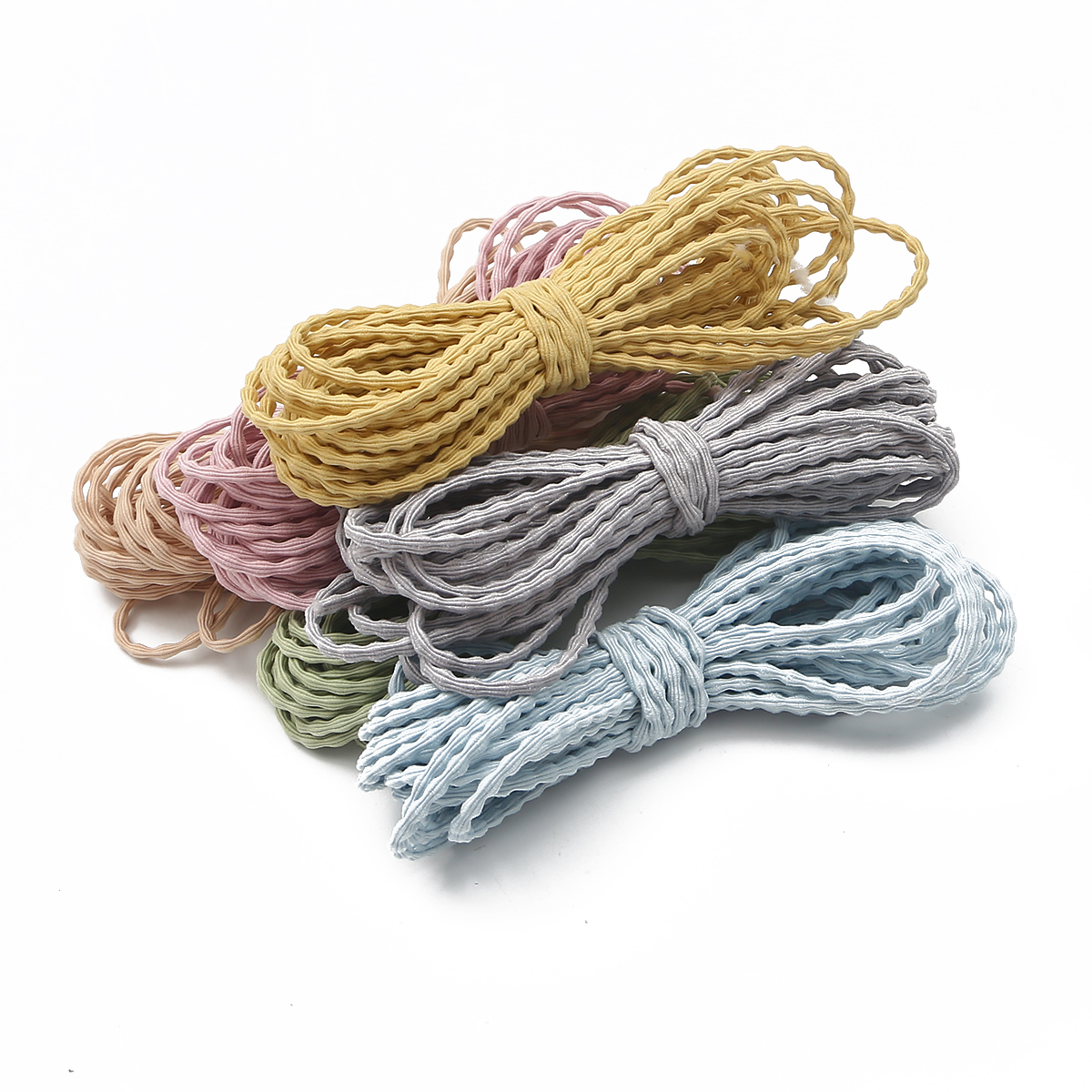 6 kolory 3mm 5 metrów wysokiej elastyczna okrągły elastyczny pasek gumowy pasek przewód elastyczny do biżuterii znalezienie Making Diy do włosów akcesoria