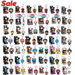 Image 1 - מיני keychain מארוול זר דברים קפטן אמריקה סיילור מון משחק של הכס גלגוליו עם תיבה