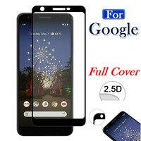 Volle Abdeckung Gehärtetem Glas Für Google Pixel 5 4 3A 3 XL 2XL 3XL 3axL Pixel2 Pixel3 Pixel4 4A 5G Screen Protector Schutz Film