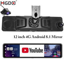 DVR Video-Recorder Rear-View-Mirror-Camera Dash-Cam ADAS Android HGDO Registrator-Mount