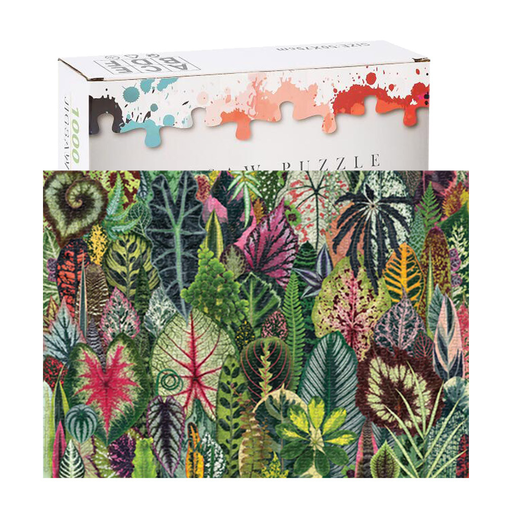 Household Forest Plants 1000 Piece Adult Children Puzzle Holiday Gift Pattern Toys Rompecabezas Juguetes Jigsaw Puzzle игрушки