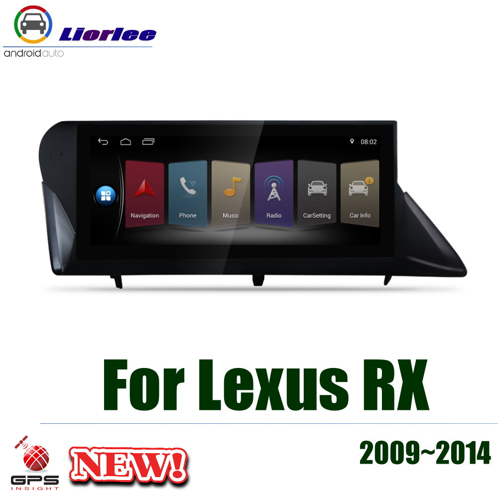 10.25 inch Quad core For <font><b>Lexus</b></font> RX <font><b>2009</b></font> 2010 2011 2012 2013 2014 GPS Multimedia Player Navi Radio Fit For low version image