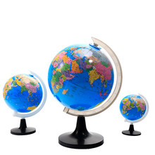 360-degree Rotating Student Globe Geography Educational Decoration Children Learn Large Globe World Earth Map Teaching Aids