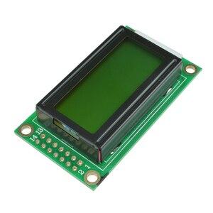 Lcd 0802 Display Modul Bord 8 × 2 Zeichen 5V LCM Für Arduino Raspberry pi Gelb/Blau Bildschirm weiß/Schwarz Text