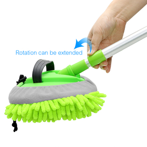 Image 5 - Dust Wax Mop Car Washing Mop Car Cleaning Window Wash Tool Auto Care Detailing Adjustable Soft Car styling Car Accessories