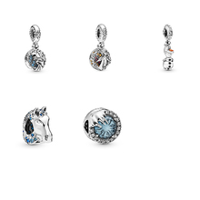 Charm Jewelry Silver High-Quality Original New Classic Pendants Gifts Diy Autumn Exquisite