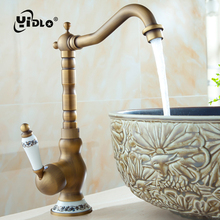 Bathroom Basin Faucet Antique Tap Vintage Kitchen Sink Tap Decorative Ceramic Brass Tap Basin Mixer Water Bronze Faucet B5 single handle antique brass faucet porcelain basin faucet bronze antique sink tap basin mixer tap vintage style sink water mixer