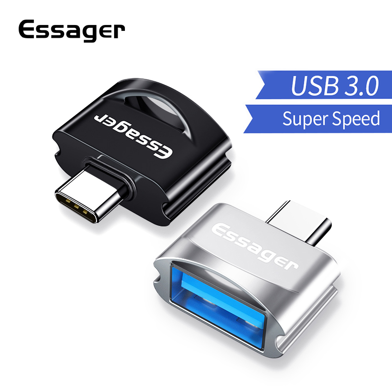 Essager Micro USB OTG Adapter Cable Male To USB Female Converter For Samsung A7 Xiaomi Redmi Note 5 Microusb Connector Adaptador