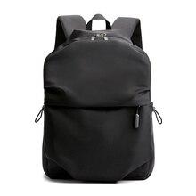 حقيبة ظهر جديدة للرجال مقاس 15.6 بوصة حقيبة ظهر للكمبيوتر المحمول سعة كبيرة حقيبة ظهر أنيقة مزودة بطيات حقيبة غير رسمية مضادة للمياه 2019