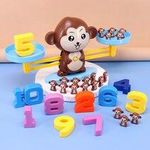 Математические матчи настольные игрушки обезьянка балансирующие