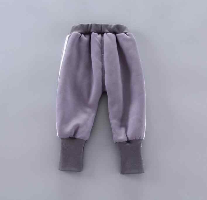 2020 invierno niños ropa bebé dibujos animados pingüino conjuntos de ropa caliente trajes bebé niñas gruesas camiseta + Pantalones trajes 2 unids/set chándales