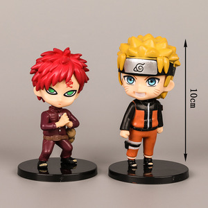 1 pcs/lot Anime Naruto Action Figure Toys Zabuza Haku Kakashi Sasuke Naruto Sakura PVC Model Collection Kids Toys(China)
