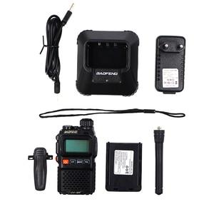 Image 5 - Baofeng UV UV3R 3R Plus Walkie Talkie Dual Band + Rádio em Dois Sentidos CB Ham HF Transceptor de Rádio FM Sem Fio UHF VHF Interfone UV 3R