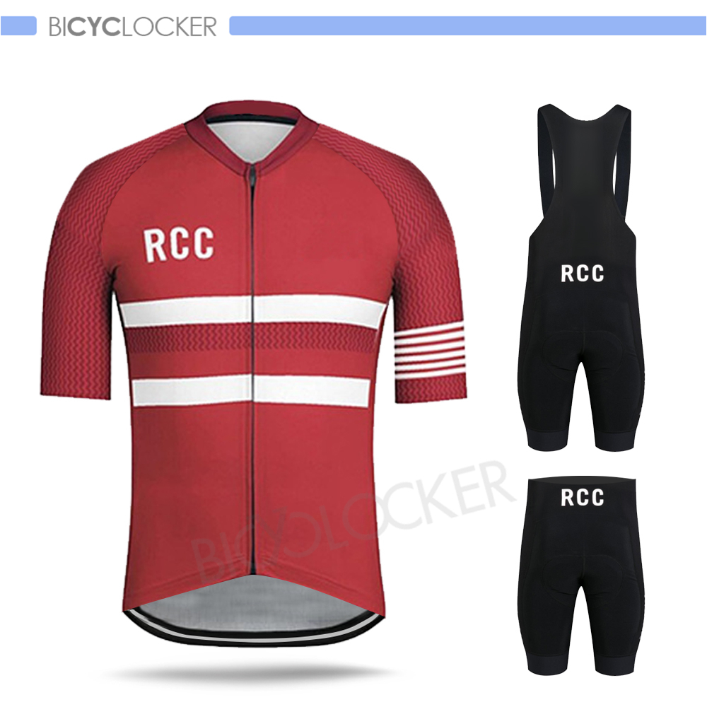 Rcc Cycling Jersey Sets 2020 Men Summer Short Sleeves Mtb Clothing Custom Uniforme Bike Quick Dry Ropa Ciclismo Hombre