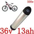 36V 250W 350W 500W Electirc батарея для велосипеда 36V 13AH батарея для электровелосипеда 36V 10Ah 13Ah 15Ah литий-ионная батарея с зарядным устройством 2A