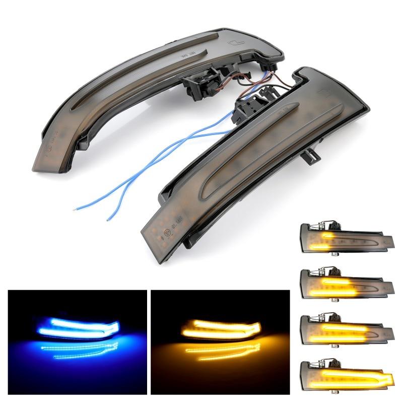 แบบไดนามิก Blinker ไฟเลี้ยว LED สำหรับ Mercedes-Benz A B C E S CLA GLA CLS Class w176 W246 W204 W212 C117 X156