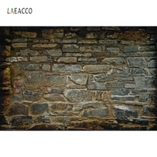 Laeacco Old Stone Wall Portrait Grunge Photography Backgrounds Customized Photographic Backdrops For Photo Studio